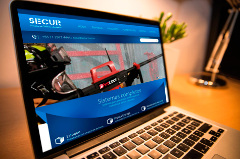 Desenvolvimento do Site da Secur