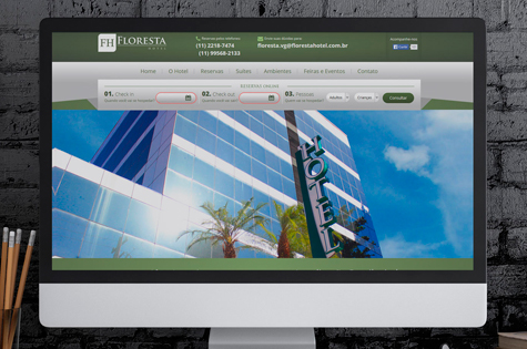 Marketing Digital para Reservas do Hotel Floresta