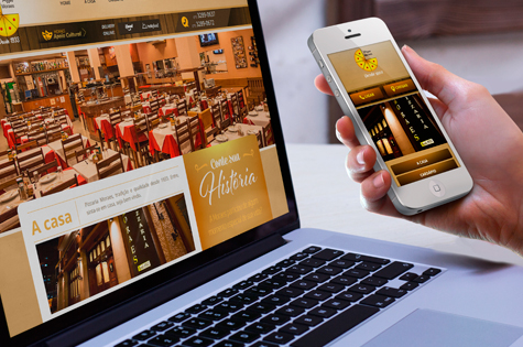 Site Mobile para a Pizzaria Moraes